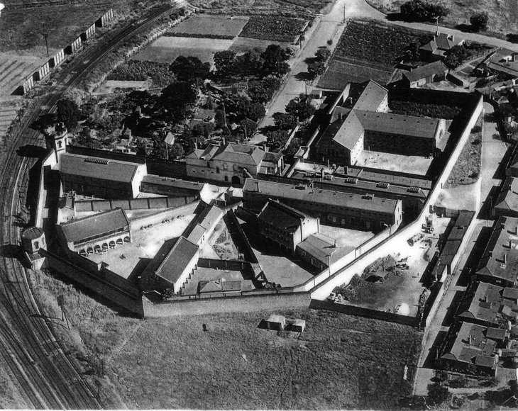Adeleaide Gaol - Aerial View